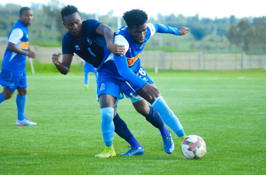 Amafoto: Rayon na Police FC zanganyije mu wa gicuti wabonetsemo amakarita 3 atukura