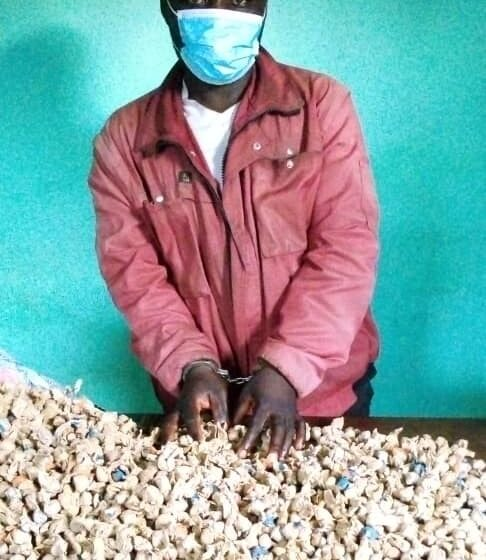 Rubavu: Uwiyita umumotari yafatanywe udupfunyika 3000 tw'urumogi