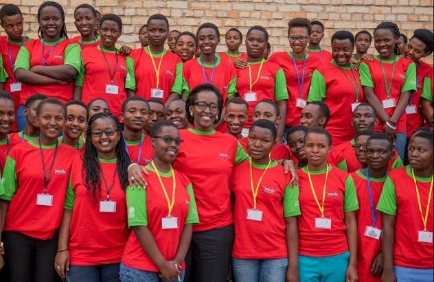 Muri urutirigongo rw'Umugabane wacu- Mme J.Kagame abwira urubyiruko rwa Africa