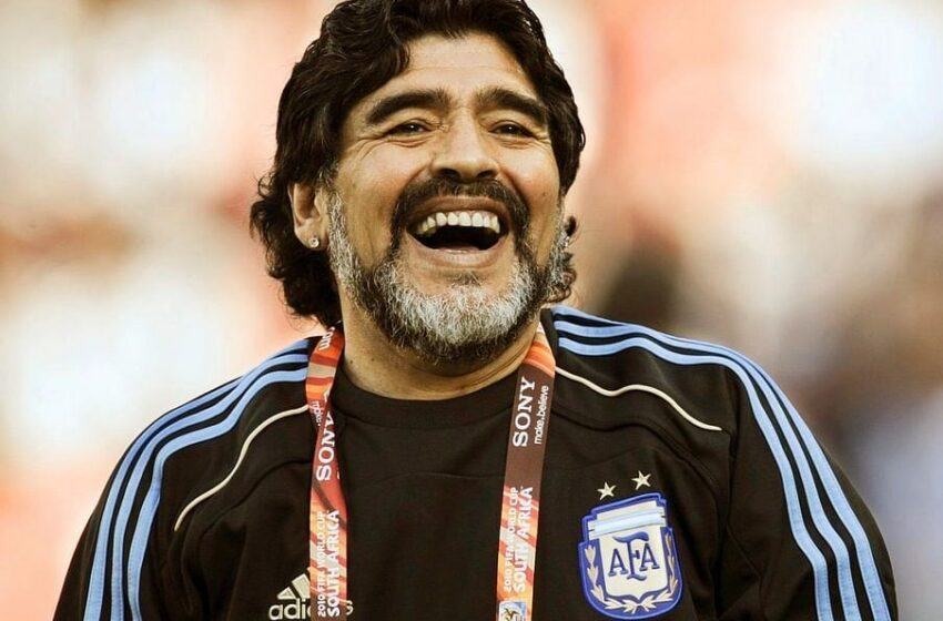 Diego Maradona wamamaye cyane muri ruhago yapfuye