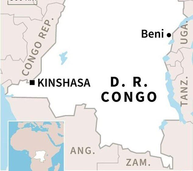 DRC: Abantu 21 bishwe n'inyeshyamba bivugwa ko ari iza ADF