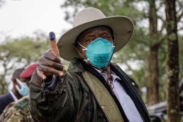 UPDATE:  Museveni yatsinze amatora ya Perezida muri Uganda n'amajwi 58,64%