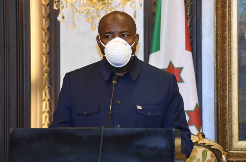 Burundi: Kwambara agapfukamunwa byagizwe intwaro yo kwirinda Covid-19