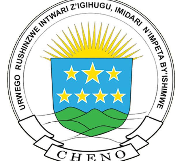 ITANGAZO: Hatana n'abandi mu marushanwa y'IMIVUGO n'INDIRIMBO byateguwe na CHENO