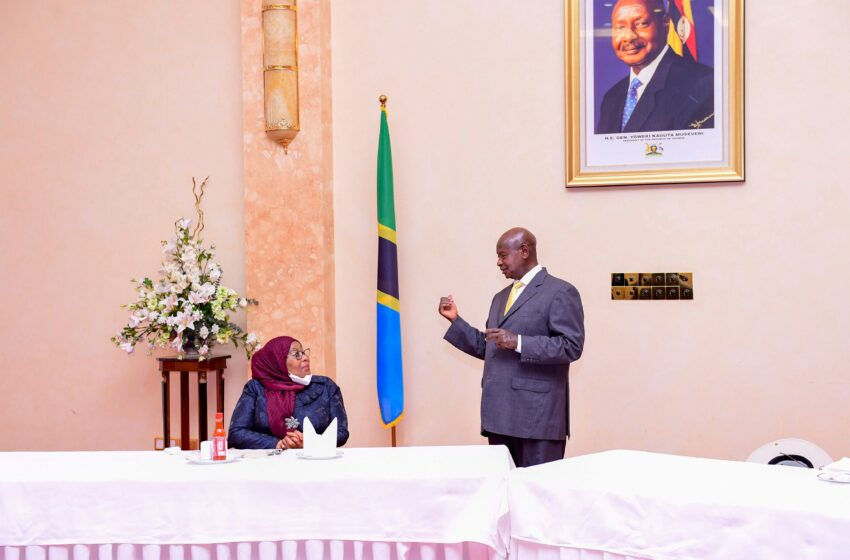 Uganda na Tanzania byateye indi ntambwe iganisha ku iyubakwa ry'inzira y'ibitembo bya Petrol