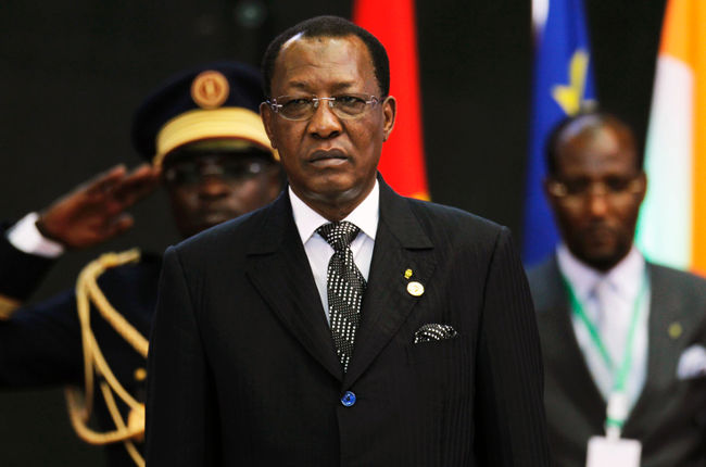 Perezida wa Tchad Maréchal Idriss Déby yishwe n'inyeshyamba
