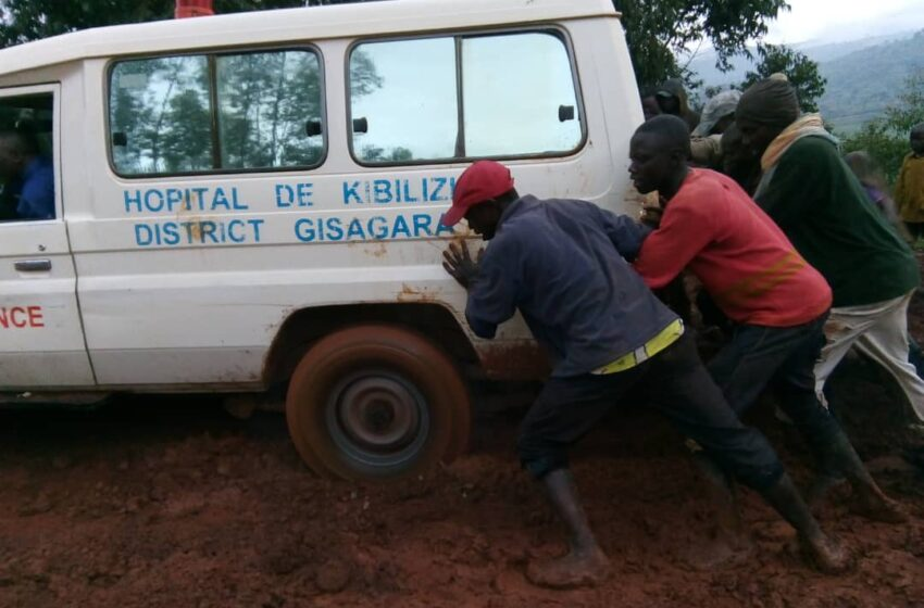 Gisagara/Gikore: Hitabazwa imbaraga z'abaturage kugira ngo Ambulance igeze umurwayi kwa muganga