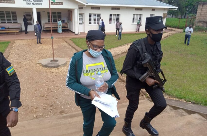 MUNYENYEZI woherejwe na US kuburanira mu Rwanda yitabye Urukiko ku nshuro ya mbere