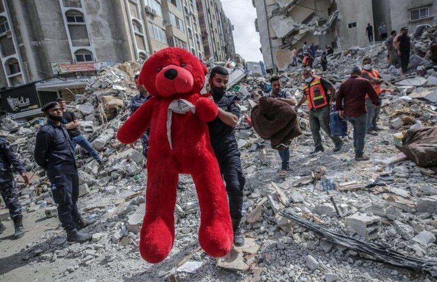 Israel ikomeje ibitero byayo kuri Gaza, ku Cyumweru yishe Abanye-Palestine 42