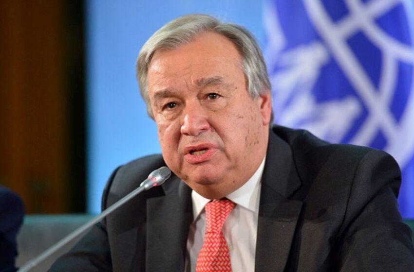 Antonio Guterres yatorewe kuyobora UN indi myaka 5