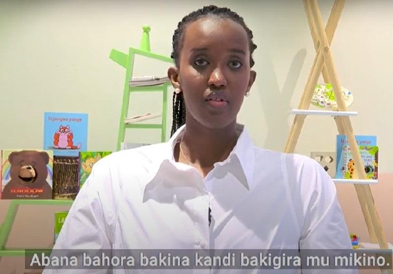 Ange Kagame yasobanuye uko ababyeyi bakubaka ubwonko bw'abana babo