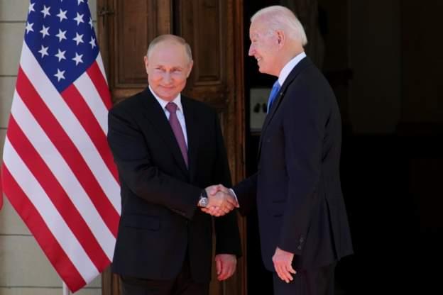 Putin na Joe Biden imbona nkubone bari mu nama mu Busuwisi