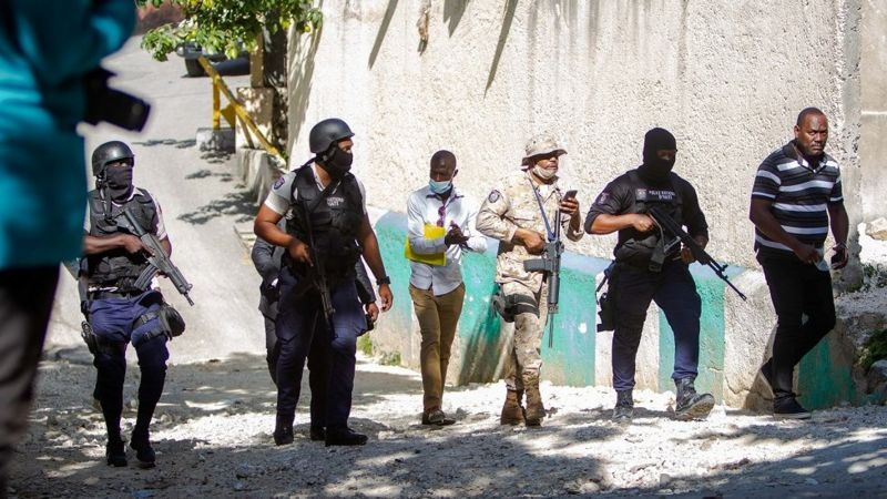 Polisi yishe 4 mu bakekwaho kwica Perezida wa Haiti Jovenel Moïse
