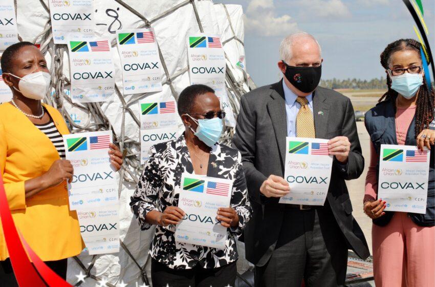 Tanzania yakiriye inkingo za Johnson&Johnson zatanzwe na Amerika