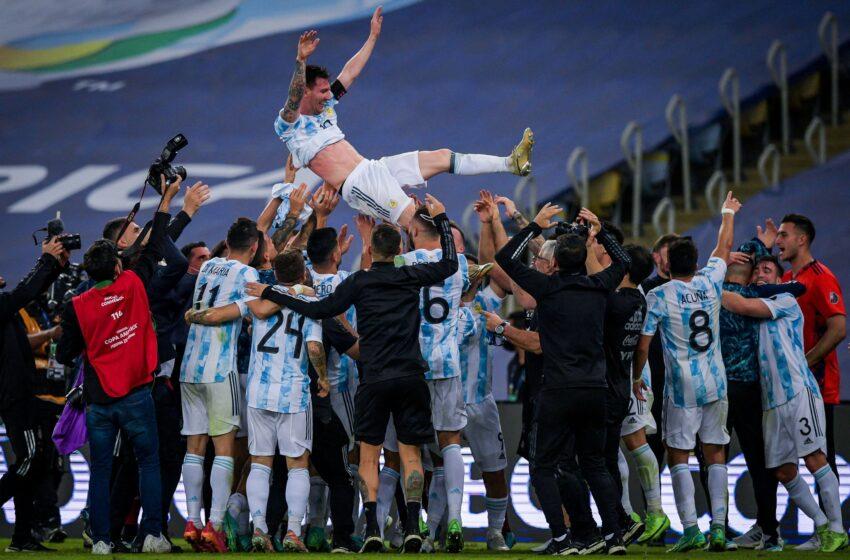 Copa America: Argentine yatsinze Bresil, Messi yegukana igikombe gikomeye mu myaka 15
