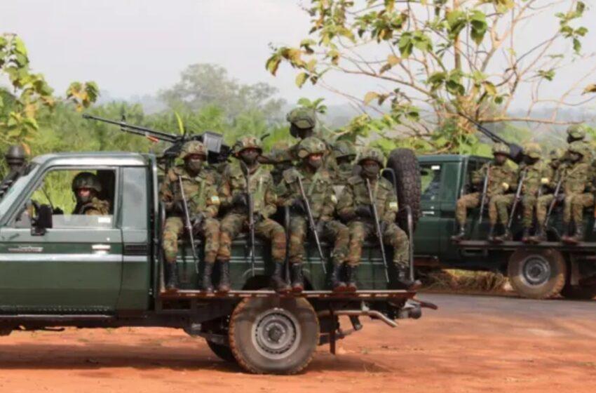 """Ingabo z'u Rwanda muri Mozambique zarashe ku nyeshyamba """"zicamo bamwe"""""""