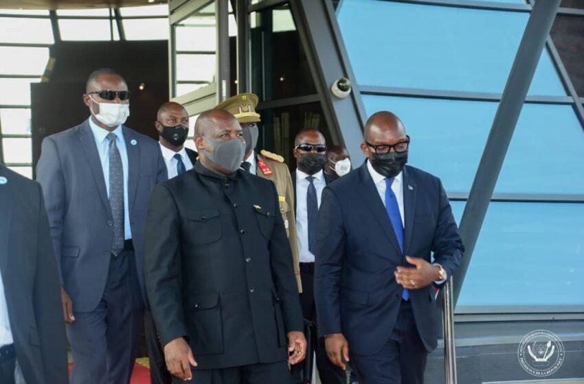 Perezida Ndayishimiye yatangiye uruzinduko agirira i Kinshasa – Ruravugwaho iki?