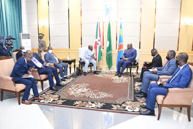 U Burundi na DR.Congo byiyemeje gufatanya mu mishinga izamura ubuhahirane