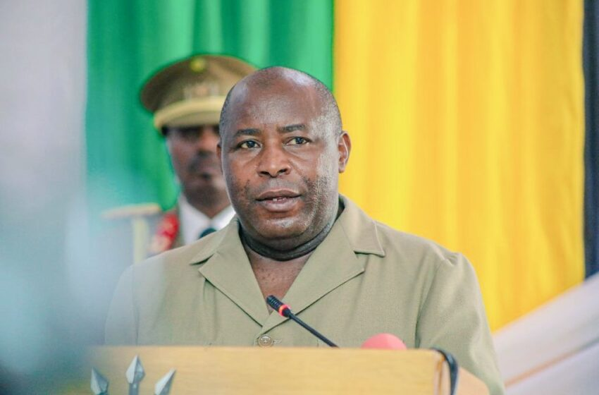 U Burundi bwasabye gukurirwaho ibihano byose bwafatiwe