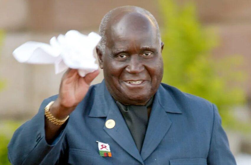 Urukiko rwasoje impaka, Kenneth Kaunda arashyingurwa