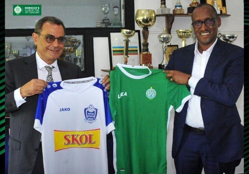 Rayon Sports iteye indi ntambwe, yasinye amasezerano yo gufatanya na Raja Casablanca