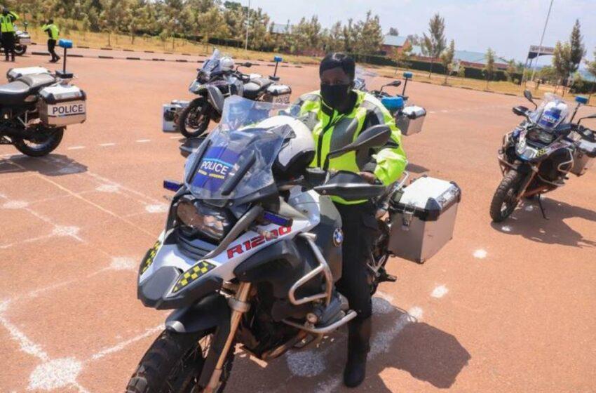 Hasojwe amahugurwa Polisi y'Ubutaliyani yafashagamo Abapolisi b'u Rwanda kwiga moto