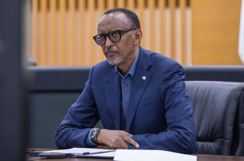 Perezida Kagame yavuze ko Afurika yihaye intego yo guhagarika itumizwa ry'ibiribwa hanze