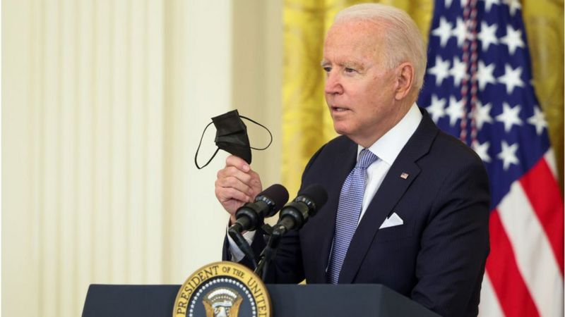Muri Leta zose za America Joe Biden yasabye ko ukingirwa Covid-19 ku bushake ahabwa 100$