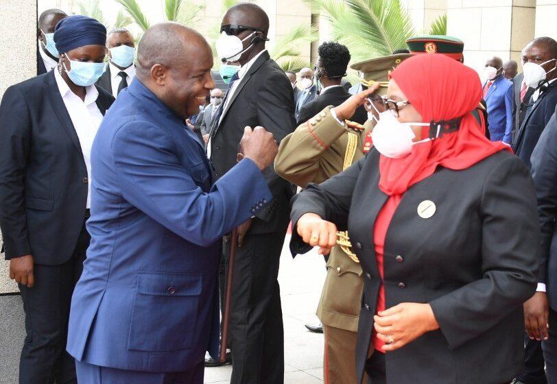 Tanzania-Burundi: Samia Suluhu mu ruzinduko rugamije gukomeza umubano