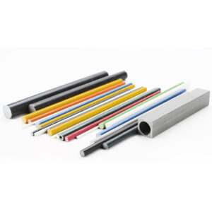 The fiberglass rod production process
