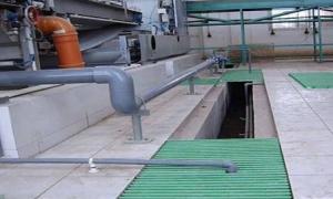 Chemical Factory Fiberglass Grating