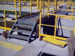 Industrial FRP(Fiberglass) Guardrail Handrail