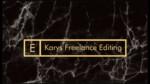 Karys Freelance Editing