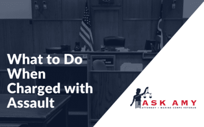 What to Do When Charged with Assault