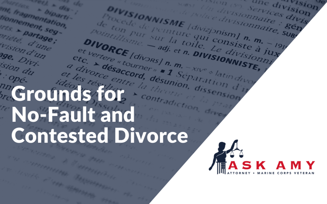 Fault and No-Fault Divorce: An Overview of Grounds