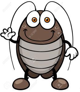 30147740-Vector-illustration-of-cartoon-cockroach-Stock-Vector