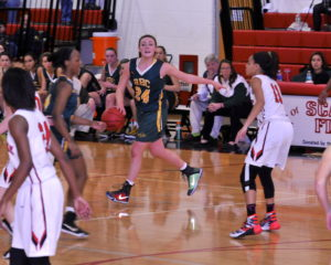 Elite Point Guards find there shooters. ROSE CAVERLY is as elite as there is...
