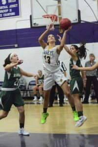 KATIE RICE was a warrior on defense and a offensive juggernaut in the 4th