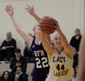 A healthy Megan Furch displayed next level type plays