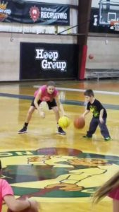 She is Shore adopted because of her work ethic..the same reason D1 school will come calling