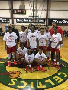 The New Jersey Warriors won the 10th grade bracket