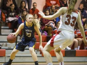 JENNA PAUL shot 10-12 from the three point ball this weekend