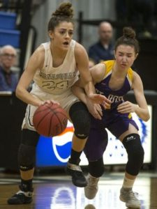 Annie Mako made one of the biggest shots of the year last year vs St. Rose