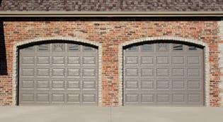 San Antonio Raised Panel Garage Door