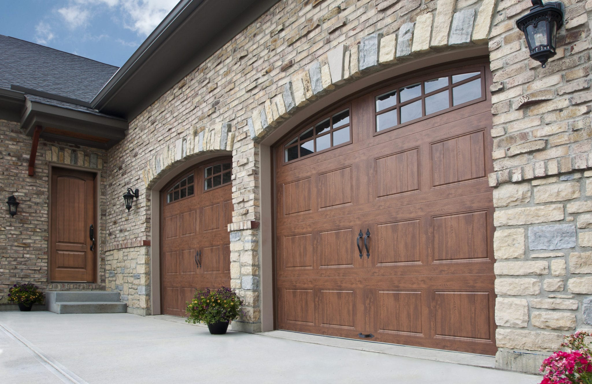 Beautiful Custom Garage Doors