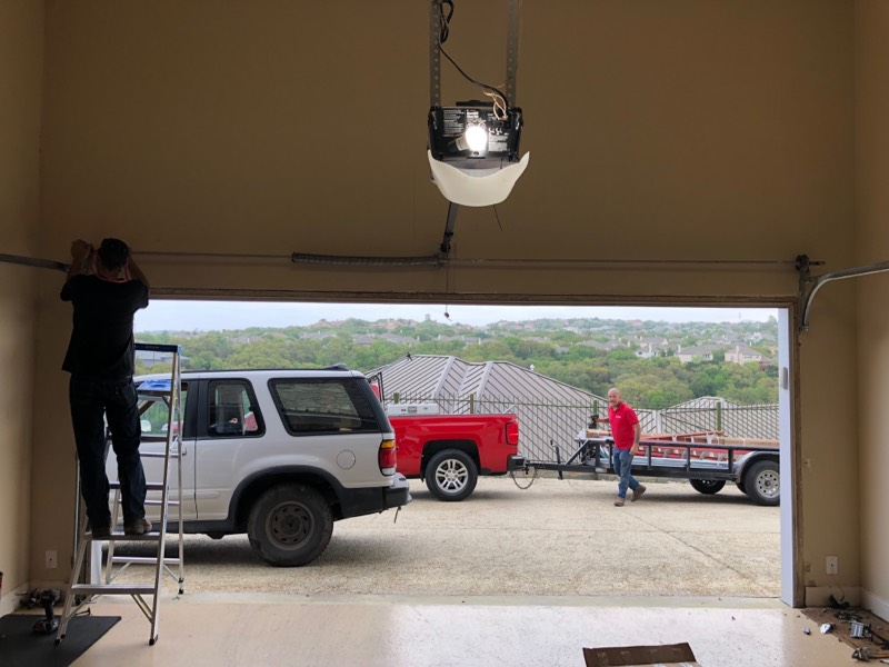 choosing a garage door installation san anotnio