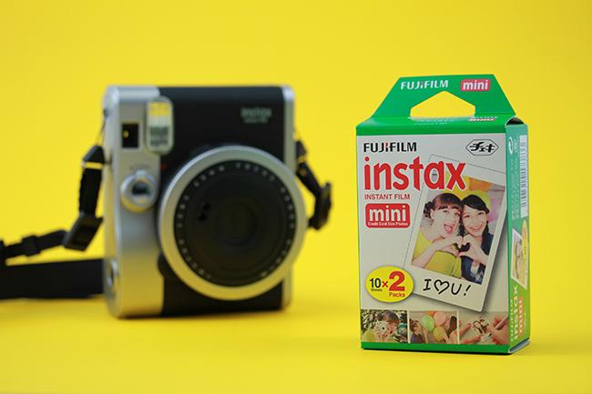 Os filmes Instax colaboram para o lucro nas vendas das instantâneas