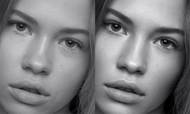 Manipulações intensas para revistas de moda acabam jogando um aspecto negativo sobre o Photoshop. | Foto: Rare Digital Art