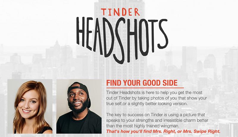 O site Tinder Headshots era só uma brincadeira, mas hoje dá lucro a seu dono.