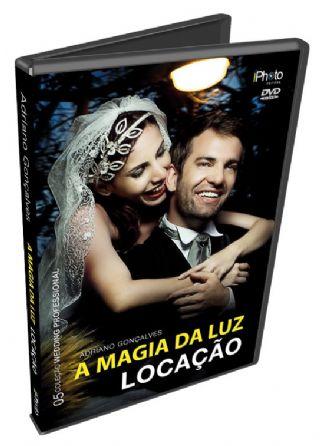 """O DVD """"A Magia da Luz"""", de Adriano Gonçalves."""